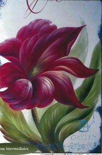 Karyne Viger Patrons et pi�ces de bois pour peinture décorative Acrylic Painting Tips, Acrylic Paintings, Canvas, Creative, Flowers, Plants, Canvas Art, Paintings, Fabric Painting