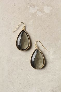 * Gold Rung Earrings by Anthropologie