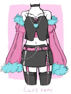 Other Outfits, Edgy Outfits, Cute Outfits, Undertale Pictures, Undertale Drawings, Cosplay Outfits, Anime Outfits, Undertale Clothes, Naruto Clothing