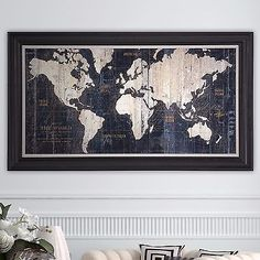 Framed Gallery Wrapped Canvas Painting Graphic Wall Art Sculpture Old World Map http://www.ebay.com/itm/Framed-Gallery-Wrapped-Canvas-Painting-Graphic-Wall-Art-Sculpture-Old-World-Map-/152305584691?ssPageName=STRK:MESE:IT