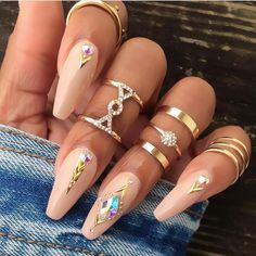 """#NailArt via - Nails Of IG (@clawaddicts) on Instagram: """"✨✨✨ Credit @thenailistaproject #nails #claws #nailsofinstagram #clawaddicts #nailaddicts…"""""""