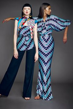 African Prints in Fashion: The Print Master is at it again: Duro Olowu Spring 2014