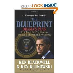 The Blueprint: Obama's Plan to Subvert the Constitution and Build an Imperial Presidency  Authors identify & discuss more than 20 tactics Obama administration uses to restructure the country & ensure perpetual liberal rule, such as change voting laws, politicize the census, coerce corporations into adopting its policies, destroy talk radio, & make millions of illegal aliens into voting citizens. By means both sharp & subtle, Pres Obama aims to change views about government, liberty, & even…