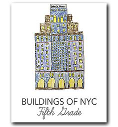 Buildings of New York City architecture lesson for fifth grade