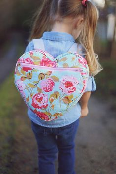 I-Heart-School Backpack Pattern
