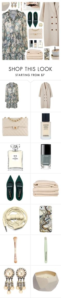 """Princesse (feat. Nemir), Nekfeu"" by blendasantos ❤ liked on Polyvore featuring Zimmermann, Chanel, Brahms Mount, Urbanears, H&M, Tweezerman and Rebecca Taylor"