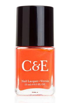 Crabtree + Evelyn has decided to also get into the nail polish category, and their new line is one you'll love. Orange Nail Polish, New Nail Polish, Nail Polishes, Beauty Crush, Skin Makeup, Summer Nails, Nail Care, You Nailed It, Manicure