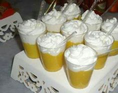 Cerveja Doce - Mousse de maracujá com chantilly Beer Birthday Party, Baby Table, Bee Party, Beer Fest, Samba, No Cook Meals, Open House, Mousse, Food And Drink