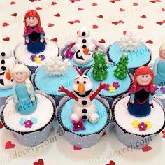 Cupcakes Frozen 3D!!  curta nossa página no Facebook: www.facebook.com/sonhodocerj