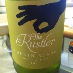 "2011 ""The Rustler,"" Chenin Blanc - white #wine from South Africa"