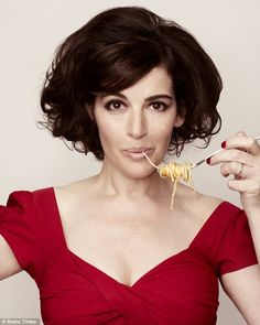 Nigella Lawson, born 6 Jan 1960, eats carbs, chocolate and drinks lots of wine... I should look like this at 100 at the rate I'm going!