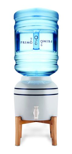 Primo's Ceramic Crock Water Dispenser offers instant access to fresh, room temperature water. The dispenser's simple design provides enhanced durability and its small size makes it easy to place anywhere. Primo's Ceramic Crock Water Dispenser uses 3-5-gallon bottles, which reduce waste from single-serve bottles and filters. Perfect for use with great-tasting Primo Water!