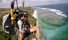 Paragliding Bali Sightseeing Tour Service-Holiday in Bali