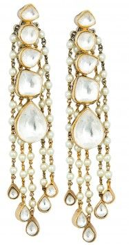 Vasundhara pearl earrings