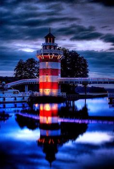 Lighthouse, Rheinsberg, Germany - Infinite Passion: Oh, the places i'll go!