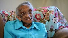 """106 Years Old and Voting for President Obama: """"Red, White and Blue, Goin..."""