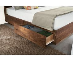 Hudson Bed With Storage Drawers