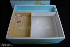"""Caixa grande de batizado e lembrancinhas """"Petit Prince"""""""