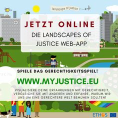 ETHOS - Towards a European Theory of Justice and Fairness Landscapes, App, Games, Europe, Playing Games, Plays, Scenery, Paisajes, Gaming