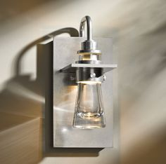 Erlenmeyer; Direct wire wall sconce with thick blown glass cone. U.S. Patent D709,638S. 207750-82-ZM343