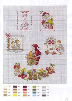 Gallery.ru / Фото #33 - Рождественские сюжеты мини вышивка. - asdfgh2