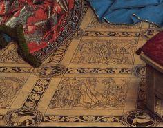 Jan van Eyck — The Annunciation (detail)