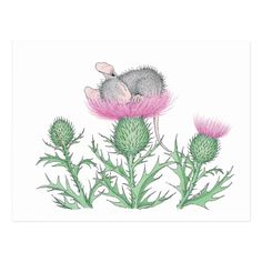 Shop House-Mouse Designs® - Postcard created by HouseMouseDesigns.