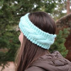 Beautiful Cozy Knit Cable Headband Ear Warmer Available in Gray Cream Navy and More! Knitting Accessories, Winter Accessories, Cable Knit Hat, Cozy Knit, Knit Headband, Arm Knitting, Headbands For Women, Ear Warmers, Homemade Gifts