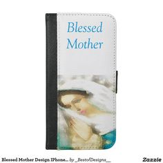 Blessed Mother Design IPhone Wallet Case