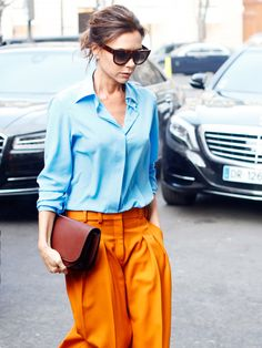 Victoria Beckham Told Us Everything She Thinks About When Getting Dressed via @WhoWhatWear