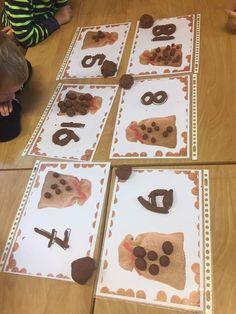 Waldorf Preschool, Saint Nicholas, December, Winter, Autumn, Xmas, Little Pigs, Numeracy, Winter Time