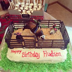 Western Birthday Party Western birthday cakes Rodeo birthday