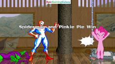 Spider-Man And Pinkie Pie VS Tom Cat And Green Goblin In A MUGEN Match / Battle / Fight This video showcases Gameplay of Spider-Man The Superhero And Pinkie Pie From The My Little Pony Friendship Is Magic Series VS Tom Cat From The Tom And Jerry Series And Green Goblin The Supervillain In A MUGEN Match / Battle / Fight