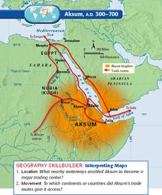 aksum map | Click the links below to access the maps from Unit 2. (+ andere mooie kaarten)
