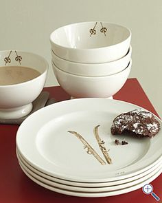 skier dinnerware from garnet hill. love.