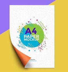 freea4papermockuppsdtemplate a4 paper psd templates