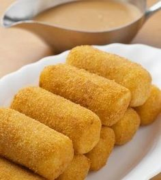 Banana Croquettes is a delicious Indian recipe served as a Snacks. Find the complete instructions on Bawarchi Dutch Recipes, Cooking Recipes, Chicken Croquettes, Ramadan Recipes, Ramadan Food, Tea Time Snacks, Vegetable Recipes, Finger Foods, Indian Food Recipes