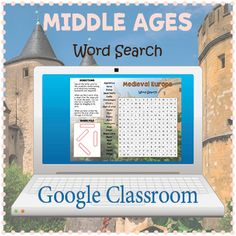 Google Classroom™ Middle Ages Word Search by Puzzles to Print | TpT Magna Carta, Challenging Puzzles, Number Puzzles, History For Kids, Fun Activities For Kids, Your Teacher, Google Classroom, Vocabulary Words, Middle Ages