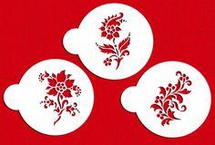 Amazon.com: Delft Flowers Cookie Stencils by Designer Stencils: Home & Kitchen