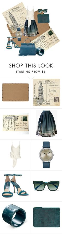 """Hello from London"" by lindsaywassel ❤ liked on Polyvore featuring Oh! Home, Chicwish, Sea, New York, Ted Baker, Michael Kors, Dolce&Gabbana, Allegra London and Aspinal of London"