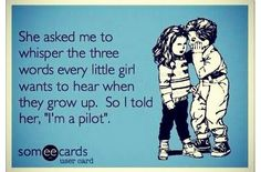 Navy pilots. They're such sweethearts