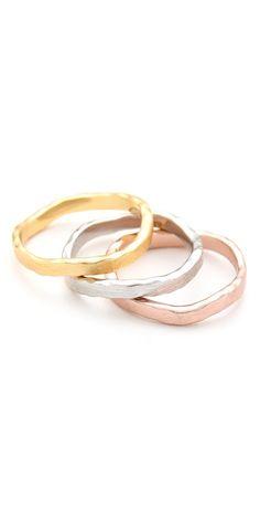 Gorjana Eden Stack Ring Set