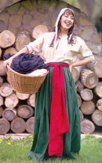 Washer Wench: Renaissance Costumes, Medieval Clothing, Madrigal Costume: The Tudor Shoppe