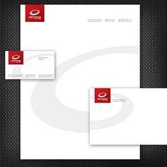 A Red Stationery Set Design. #stationery #design  $29.00