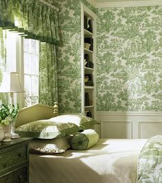 green toile