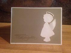 Weihnachtskarte Engel