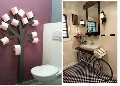 Kreatív tárolás kis fürdőszobákban    Még egy kis fürdőszoba... kevesebb szöveggel. I...