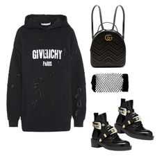 """""""Untitled #5389"""" by lilaclynn ❤ liked on Polyvore featuring Givenchy, Gucci, Balenciaga, ASOS and gucci"""
