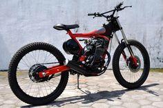 Darizt Design, moto, indonesia, transformación, preparación, moto, dogsville.es