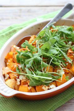 Pompoen ovenschotel met zoete aardappel | Lekker en simpel | Bloglovin'